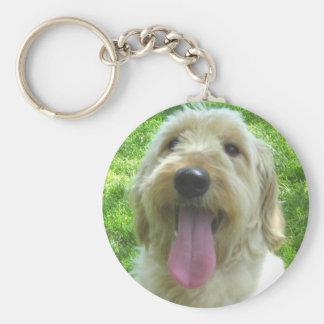 Goldendoodle Products Basic Round Button Keychain