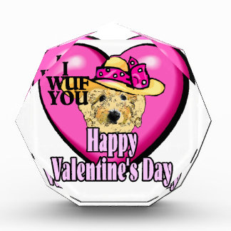 Goldendoodle Valentines Day Award