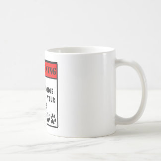 Goldendoodle Will Lick Your Face Coffee Mug