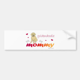 GoldendoodleMommy Bumper Sticker