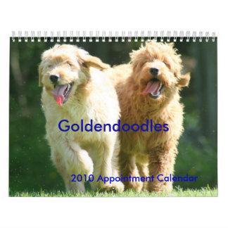 Goldendoodles Wall Calendars
