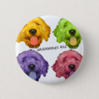 Goldendoodles Rule 4 color Button