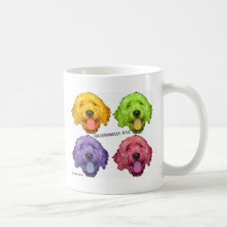 Goldendoodles Rule 4 color Coffee Mug