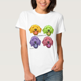 Goldendoodles Rule 4 color T Shirts