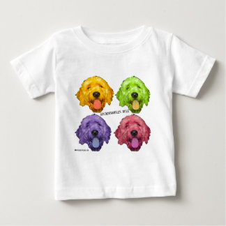 Goldendoodles Rule 4 color Tee Shirt