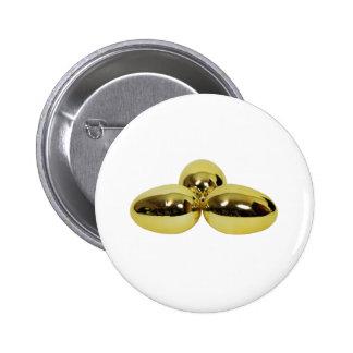 GoldenEggs030209 copy Pinback Buttons