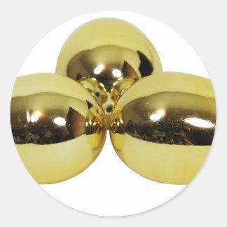 GoldenEggs030209 copy Round Sticker