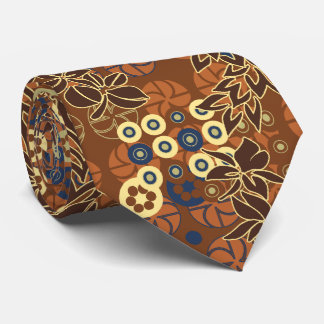 Goldengate Park Floral Two-sided Tie