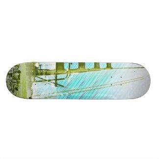 GoldengateBridge SanFrancisco Iconic Panel of Life Skateboard Deck