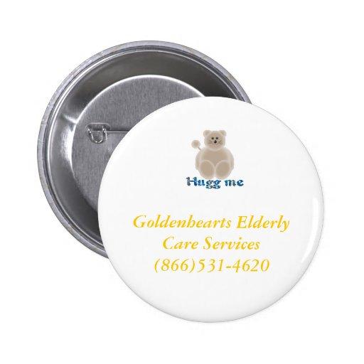 Goldenhearts buttons