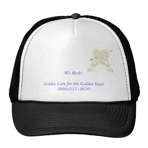 goldenhearts cap mesh hats
