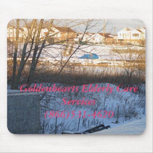 Goldenhearts mouse pads...