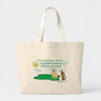 GoldenRetriever Tote Bags