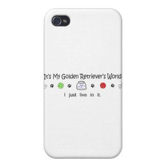 GoldenRetriever Cases For iPhone 4