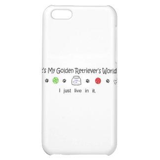 GoldenRetriever Cover For iPhone 5C