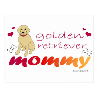 GoldenRetrieverMommy Postcard