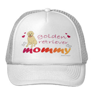 GoldenRetrieverMommy Trucker Hat