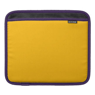 GOLDENROD (a solid rich yellow-orange color) ~ iPad Sleeves