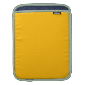 GOLDENROD (a solid rich yellow-orange color) ~ iPad Sleeve