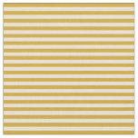 [ Thumbnail: Goldenrod and Light Yellow Pattern Fabric ]