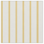 [ Thumbnail: Goldenrod and Light Yellow Striped/Lined Pattern Fabric ]