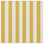 [ Thumbnail: Goldenrod & Beige Colored Lines Fabric ]