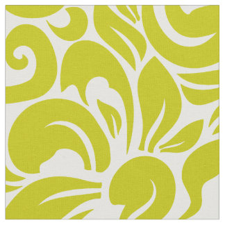 Goldenrod Floral Fabric