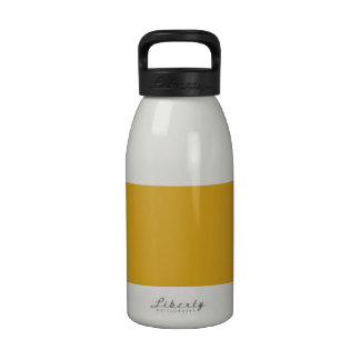 Goldenrod High End Colored Reusable Water Bottle
