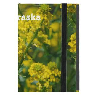 Goldenrod Nebraska iPad Mini Covers