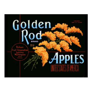 Goldenrod Post Card