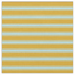 [ Thumbnail: Goldenrod & Powder Blue Colored Pattern Fabric ]