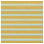 [ Thumbnail: Goldenrod & Powder Blue Colored Pattern Fabric ]
