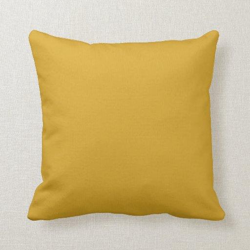 goldenrod throw pillow Zazzle