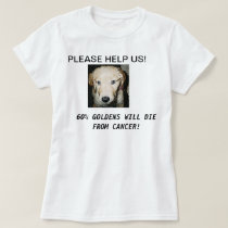 GOLDENS AND CANCER T SHIRTS