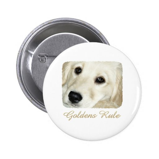 Goldens Rule 2 Inch Round Button