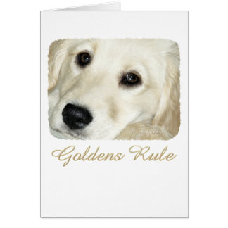 Goldens Rule Card