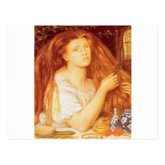 """""""GoldenTresses"""" by Rossetti Postcard"""