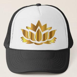 Golder Lotus Trucker Hat