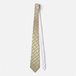 Goldern circunda los lazos del modelo para los corbata