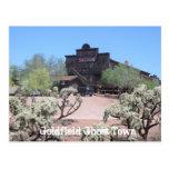 Goldfield Ghost Town Saloon Postcard