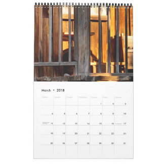 Goldfield Old West 2018 Calendar