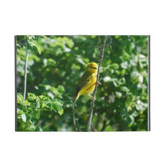 Goldfinch amarillo iPad mini fundas