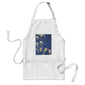 Goldfinch and Cherry Tree, c.1834  by Katsushika H Adult Apron