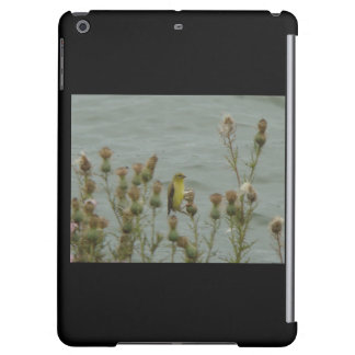 Goldfinch and Thistle Cover For iPad Air