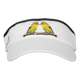 Goldfinch Bird Headsweats Visor