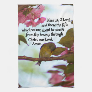 Goldfinch Blessing Kitchen Towel