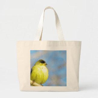 Goldfinch Bolsa De Tela Grande