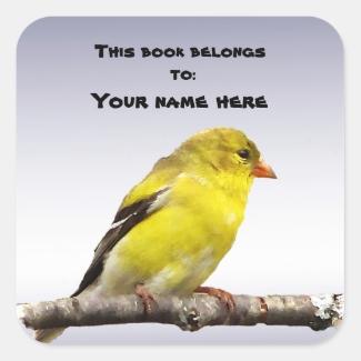 Goldfinch Bookplate