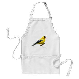 Goldfinch by Cindy Agan Adult Apron