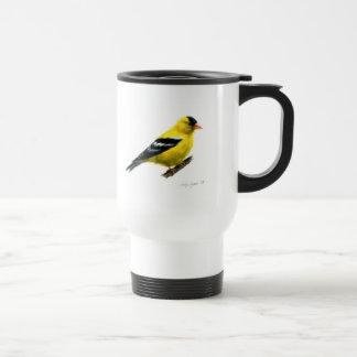 Goldfinch by Cindy Agan Mugs